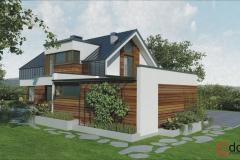 Dom w Zielonkach wersja 1