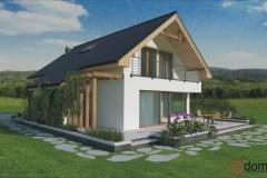 Dom w Zielonkach wersja 2