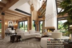 Dom z bali średni 155 m2