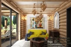 nowoczesny-dom-z-bali-wnętrze-13