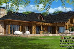 Dom z bali w Żywcu