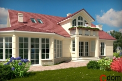 Dom z ogrodem zimowym pod Krakowem