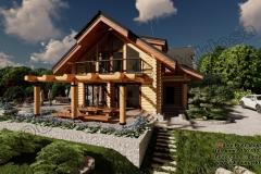 Nowoczesny-dom-z-bala-nad-Solina-11