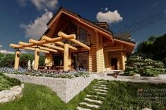 Nowoczesny-dom-z-bala-nad-Solina-13