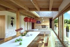 Nowoczesny-dom-z-bali-prostokątnych-2