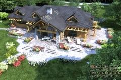 nowoczesny-dom-z-bali-z-garażem-7