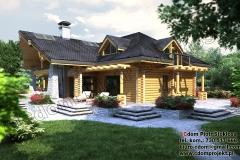 nowoczesny-dom-z-bali-z-garażem-8