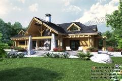 nowoczesny-dom-z-bali-z-garażem